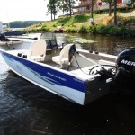 Bass 500 boat at Lake Runn Fishing Resort